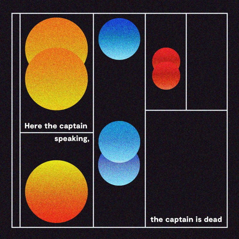 Album Review: Here The Captain Speaking, The Captain Is Dead – S/T